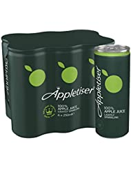 Appletiser Gently Sparkling Apple Juice, 6 x 250 ml