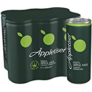 Appletiser Gently Sparkling Apple Juice, 6 x 250 ml