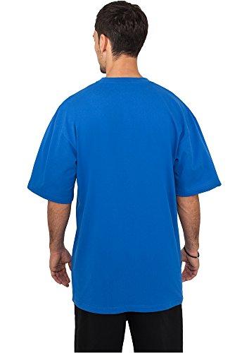 Urban Classics TB006 Herren T-Shirt Tall Tee | Oversize Shirt Blue