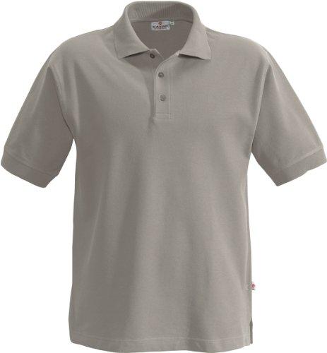"HAKRO Polo-Shirt ""Classic"" - 810 - Grau-Meliert"