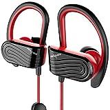 Écouteur Bluetooth Sport, sans Fil Sport Bluetooth avec Microphone Casque Stéréo...