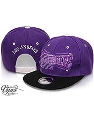 "Midi Shopping - Casquette Snapback Pas Cher Cap Hat Flatbrim ""Los Angeles"" CAP 14LA"