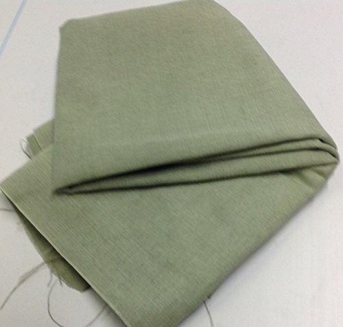 Pre Cut (separat verpackt) 1m Stück Salbei Grün Leinen/Baumwolle Mix Stoff-geeignet für Mobiliar und Polstermöbel -