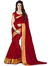 Nilkanth Enterprise Banglori Silk Saree (Nebsrv06_Red)