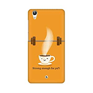 Mobicture Strong Enough Printed Phone Back Case for Vivo Y51L