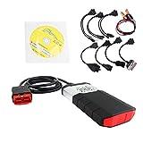 Detectoy 2015R3 für Autocom Isi Auto OBD2 Auto Diagnose Tool Kit mit 8 STÜCKE Kabel Für Auto Fahrzeug Stamm Automobil