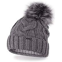 fd9c8dccc2c8 VELY Le Chapeau Bonnet Chaud Thermique d hiver pour Femmes, de Taille  Universelle avec