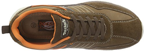 Dockers by Gerli 38re001-204, Baskets Basses homme Marron - Marron (300)