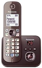 Panasonic KX-TG6821GA telefono Telefono DECT Marrone Identificatore di chiamata