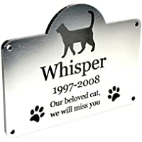 Origin Placa Conmemorativa Personalizada para Mascotas jardín al Aire Libre Resistente al Agua