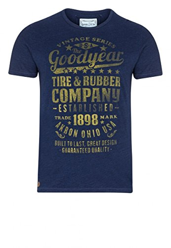 Goodyear T-Shirt Richmond Hill, Color:blue denim used;Größe:M