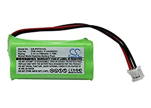 Batterie de rechange pour Philips DeCT 211 215, DeCT sans fil DeCT, 215 et 216, Trio DeCT sans fil DeCT 2151, DeCT 2152, DeCT 2153, DeCT 2154, Kala 300, Kala 300 VOX, Kala 3322, Kala 3350, Kala 3351, Kala 3352, Aleor 300 DeCT, Xalio 300 215s, Zenia 300 Voix, SE105, Kala 300 VOX voulez -