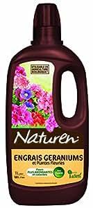 Naturen Natger1 - Concime per gerani, 1 litro