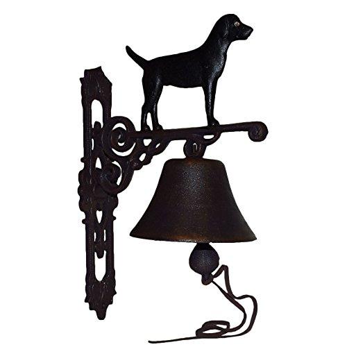 Schwarzer Labrador Retriever H Bell Farm Schild Plakette Tür Wand Haus