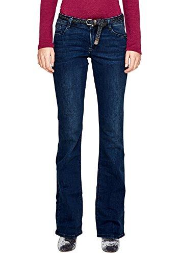 s.Oliver Damen Bootcut Jeans 14.802.71.5051, Blau (Blue Denim Stretch 57Z4), W36L32 (Fit-bootcut-stretch-jeans)