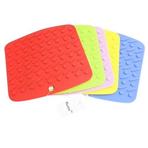 kurtzytm-set-of-5-coloured-silicone-trivet-set-heat-resistant-pot-holder-spoon-rest-tray-mat-sur