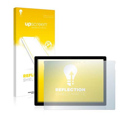 upscreen Matt Schutzfolie kompatibel mit Microsoft Surface Pro 6 - Entspiegelt, Anti-Reflex, Anti-Fingerprint