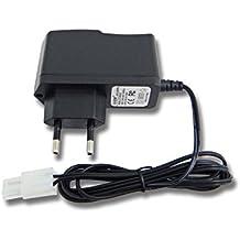 vhbw 220V fuente de alimentación, cargador para batería RC con conector Tamiya y tensión de 4.8V