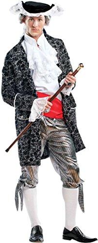 Costume di carnevale da casanova vestito per uomo adulti travestimento veneziano halloween cosplay festa party 4458 taglia xl