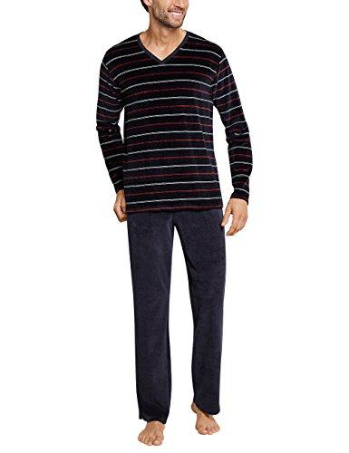Schiesser Herren Anzug Lang Zweiteiliger Schlafanzug, Gelb (Whisky 604), XXX-Large (Herstellergröße: 058)