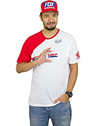 Tee shirt Fox HRC Optic Blanc