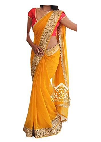 SRK's Designer Saree for Women - Party Wear Women's Saree With beautiful...