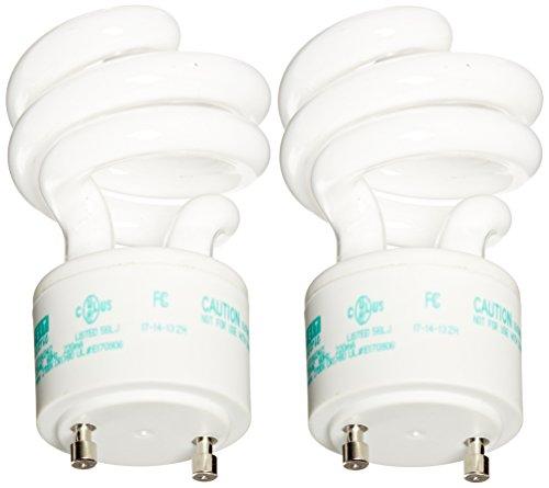 Gu24 Compact (Feit Energiesparlampe Elektrische Gluehbirne Äquivalent GU24CFL Glühbirne, Weiß (Soft White) 13 W 120 voltsV)