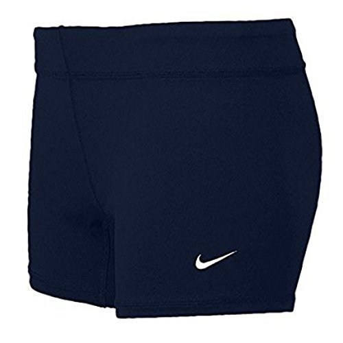 Nike Volleyball Spandex (Nike Performance Women's Volleyball Game Shorts (Small, Navy))