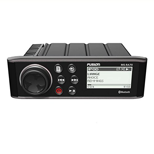 Fusion ms-ra70 - Multimedia Player mit Bluetooth, Schwarz Fusion Audio