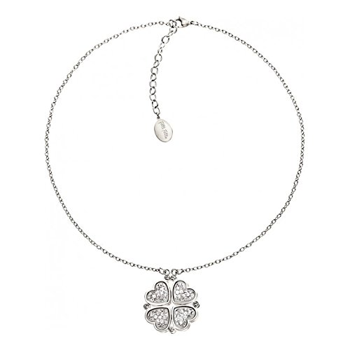 ladies-folli-follie-sterling-silver-floating-necklace-the-heart4heart-collection3n13f042c