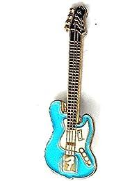 Broche de metal esmaltado, pin, con diseño de guitarra eléctrica Fender, ...