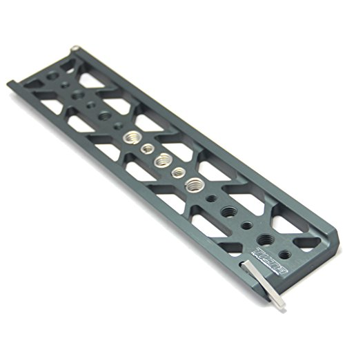 Tilta TT-C16 10 inch lightweight dovetail plate for SONY A7 A7R A7S II Mark 2 ES-T17 ES-T17A ES-T16 A6300 A6500 ES-T27 ES-T27-A BMCC BMPC ES-T07 RIG cage