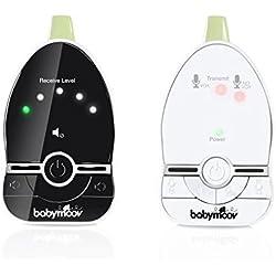 Babymoov Easy Care Babyphone Audio avec VOX et Double Alarmes, Portée 500 m