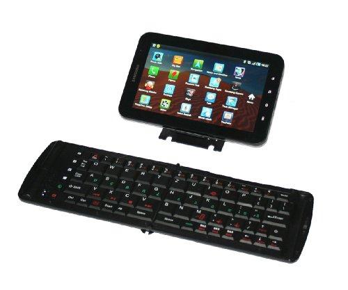"""Freedom Pro 2 Keyboard 2013: Bluetooth Tastatur PRO 2"""" mit deutschem Layout (QWERTZ) - kompatibel zu* Acer Touch Garmin Asus Nüvifone M10 LG GM750 Sony Ericsson Xperia X2 Toshiba TG01"""
