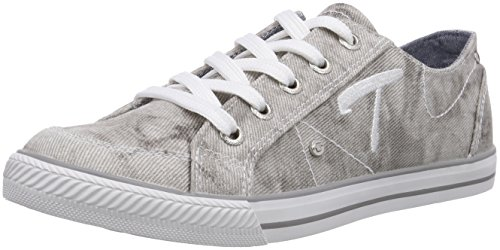 TOM TAILOR Kids Mädchen Sneakers, Grau (grey), 32 EU (Toms Kids Grau)