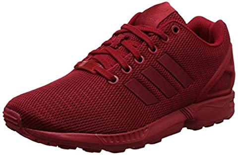 adidas ZX Flux, Baskets Basses Mixte Adulte, Rouge (Power Red/Power Red/Collegiate Burgundy), 43 1/3 EU