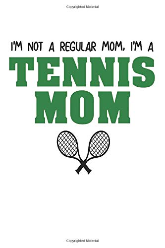 Tennis: Notebook Journal | Tennis Mom | For Tennis Moms, Coaches And Everybody Who Loves Playing Tennis (6x9 inch | lined paper | Soft Cover | 100 Pages) - Nike Womens Tennis Apparel