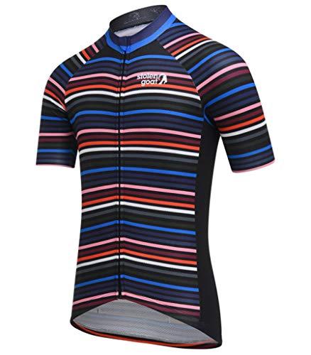 Maillots de Cyclisme pour Hommes Manches Courtes à Manches Courtes à Manches complètes Kit de vélo Zip Rapide séchage MTB vêtements ensembles Cycle Tops Costumes de vêtements de vélo
