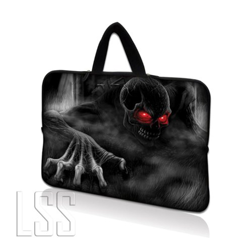 'lss Neopren Laptop Tablet Sleeve W. Hidden Handle Case passend für Apple iPad 1 iPad 2 iPad 3 Schutzhülle/Kindle Fire/Samsung Galaxy Tablet/Asus Eee Pad/Acer Iconia Tab/Acer Aspire One/Dell Inspiron Mini/Samsung N145/Toshiba/Kindle DX/Lenovo S205/HP Touchpad mini 210 8