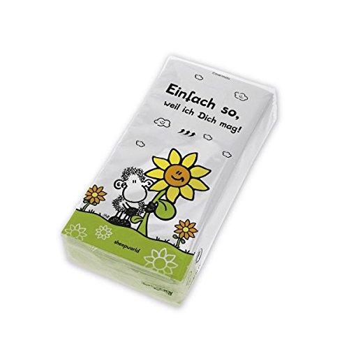 """Preisvergleich Produktbild SHEEPWORLD 43484 Taschentücher """"Einfach so"""""""