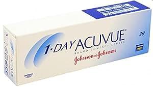 Acuvue 1-Day Visitint Tageslinsen weich, 30 Stück / BC 8.5 mm / DIA 14.2 / -0.50 Dioptrien