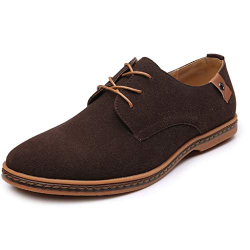 Herren Kleid Business Arbeitsschuhe Selou Casual Solid Lace Up Oxfords Lederschuhe Elegant Outdoor...