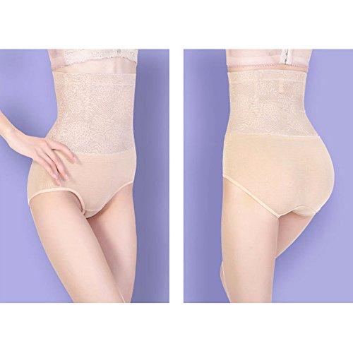 Surker Womens taille haute postpartum Abdomen Panties Contr?le Body Shaper Sous-v¨ºtements nu