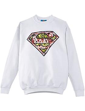 DC Comics Superman Cells Logo, Sudadera, Niños