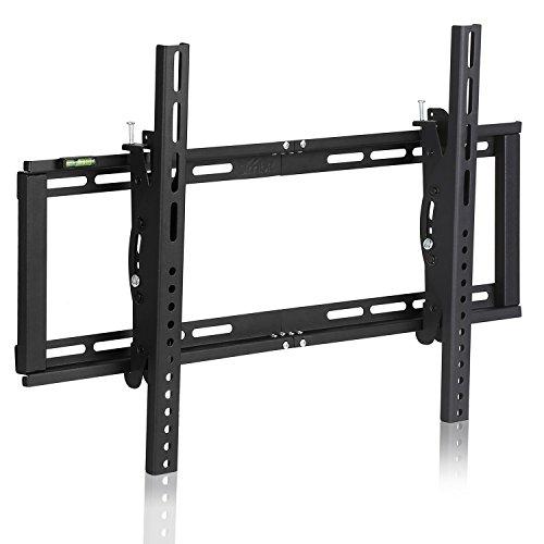 SIMBR TV Wandhalterung Neigbar VESA 600x400 für LED LCD Plasma Curved gebogene TVs von 26 bis 75 Zoll (87 bis 250cm) mit einer Tragfähigkeit von 60kg