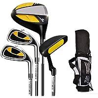 Lpinvin OS Putter de Golf Club de práctica de Golf Putter de Goma para niños Golf Putter para niños y niñas de 3-12 años con Bolsa de Golf, 1 Juego Campo de putters para los Hombres