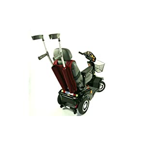 Mobility Scooter Double Crutch & Walking Stick Holder