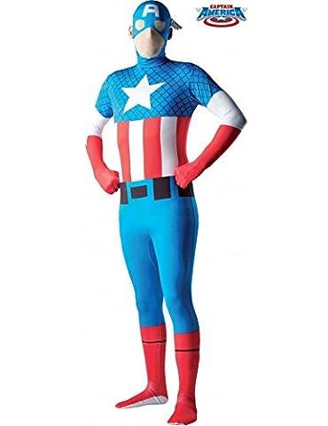 Captain America Adolescents Costumes - Déguisement Captain América-2nd