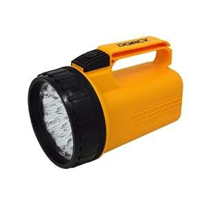 Dorcy 41–1046LED Lampe de poche Lanterne avec 6-volt rechargeable et nylon Lanière, 40-lumens, finition Jaune