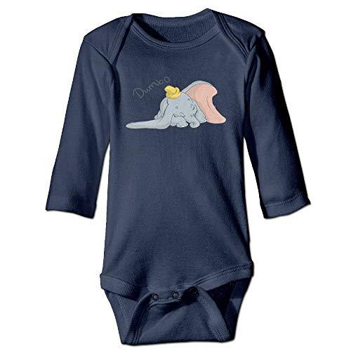 FGRFQ Babybekleidung Baby Infants 100{cdf8ea36398471463a030d4c8447744c98dc9e230f6a2c2069b8b7489262aa2b} Cotton Long Sleeve Toddler Bodysuit Dumbo Jumpsuit Clothes